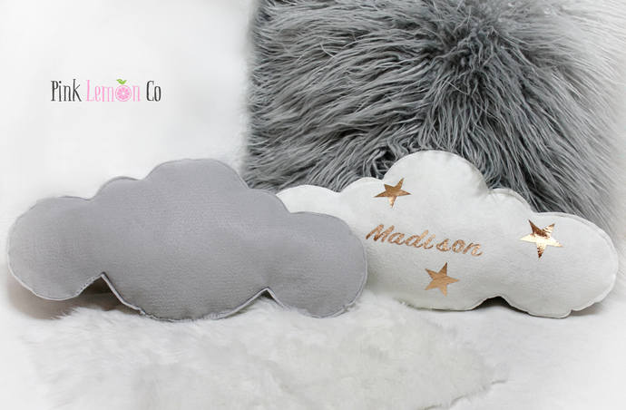 Cloud Pillow, personalized cloud pillow, nursery decor,cloud nursery decor
