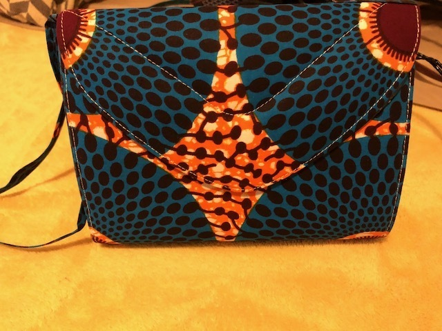 Stylish African Print Clutch/Crossbody