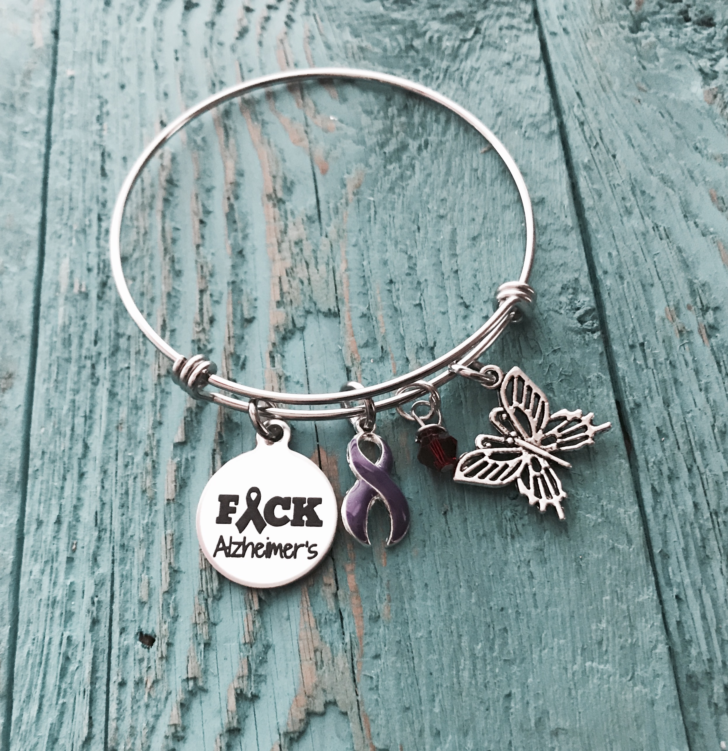 supplies a canada awareness bracelets fibrosis alzheimer c products ribbon index shop bracelet party purple campaign charms with cystic open pk