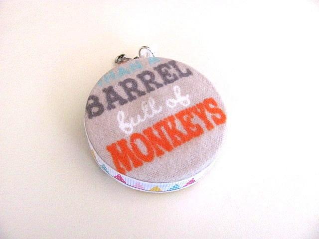 Measuring Tape Barrel of Monkeys Retractable Tape Measure