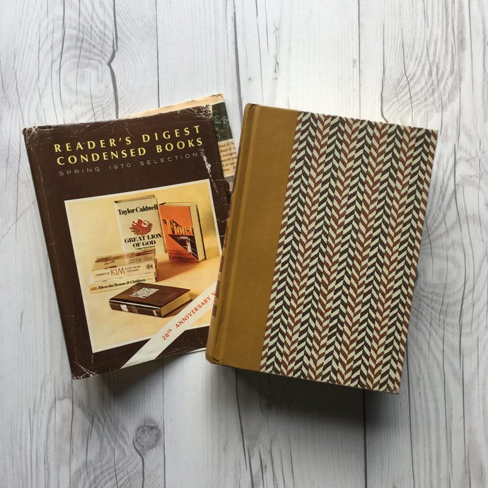 Volume Two of 1970 Reader's Digest Condensed Book Set, First Edition