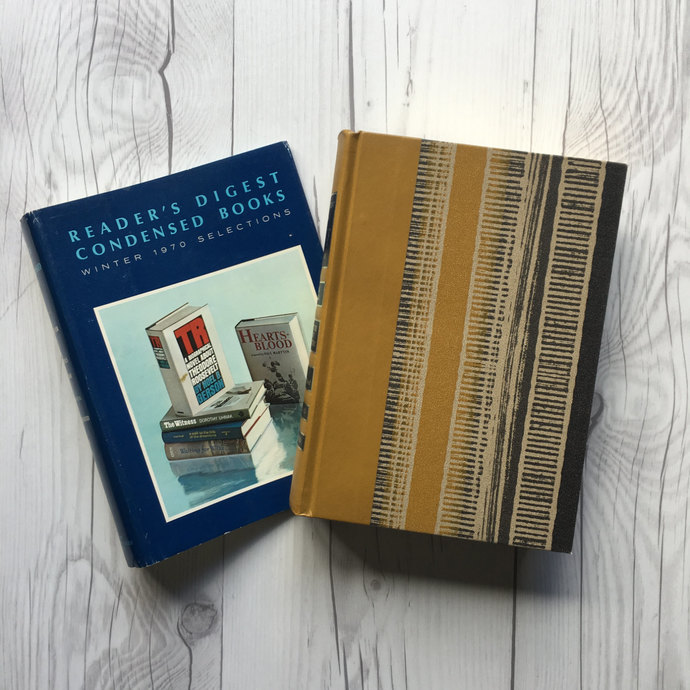 Volume One of 1970 Reader's Digest Condensed Book Set, First Edition