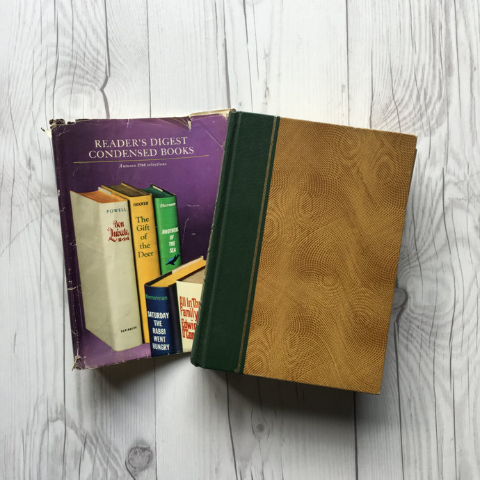 Volume Four of 1966 Reader's Digest Condensed Book Set, First Edition