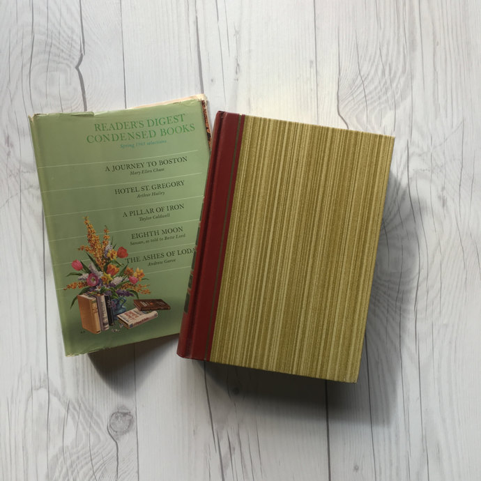 Volume Two of 1965 Reader's Digest Condensed Book Set, First Edition