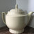Vintage Hearth Side Teapot by Porcelier Vitreous Hand Decorated China in USA