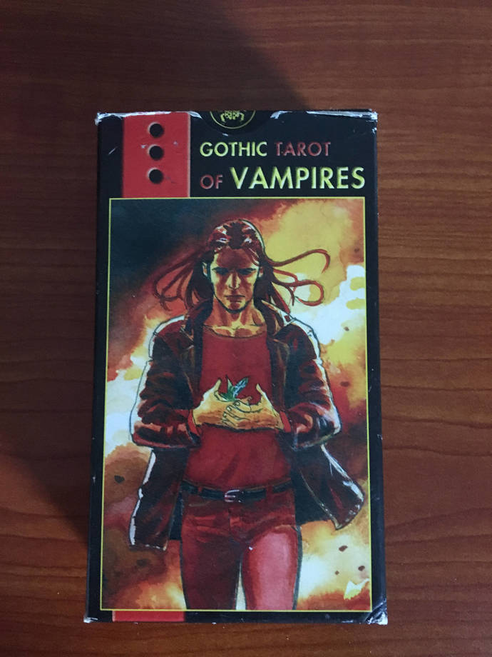 Vampire Tarot Cards and booklet