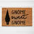 Gnome Sweet Gnome Doormat | Welcome Mat | Outdoor Rug | Funny Door Mat | Home