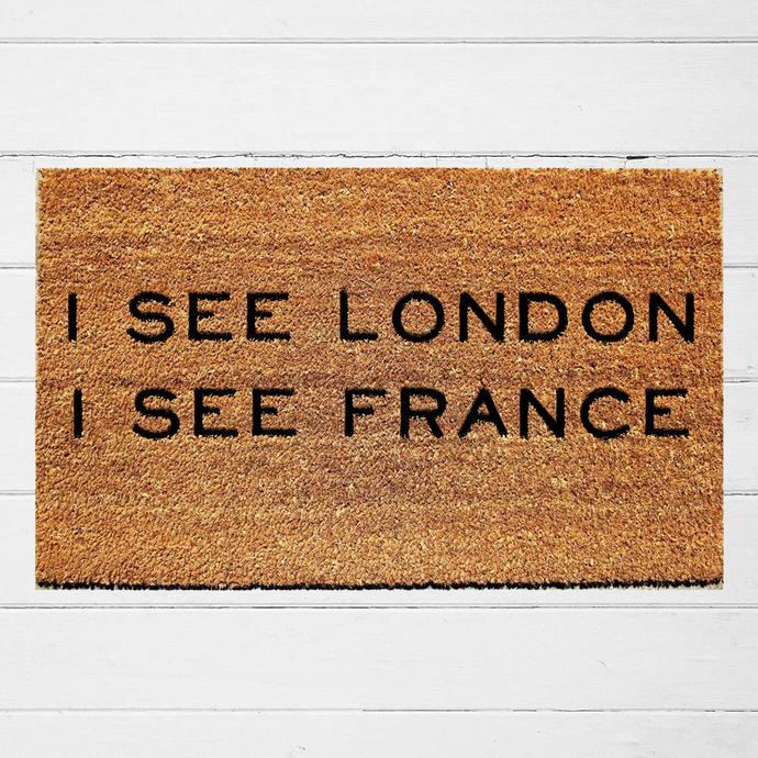 Superbe I See London I See France Doormat | Welcome Doormat | Funny Door Mat |  Welcome