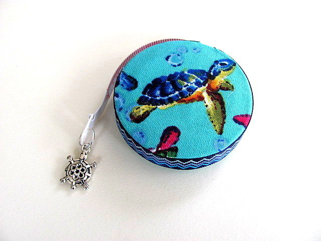 Measuring Tape Swimming Turtles Retractable Tape Measure