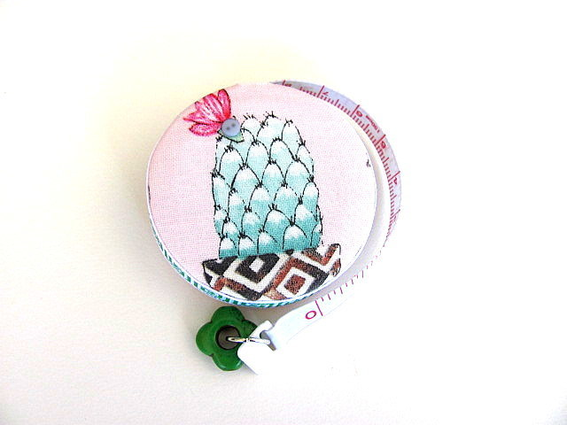 Tape Measure Potted Cactus Retractable Measuring Tape