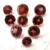 Garnet Rhodolite 5mm Faceted Gemstone Buff Top 5.5mm FOR ONE