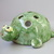 Rare vintage ceramic pencil holder,turtle