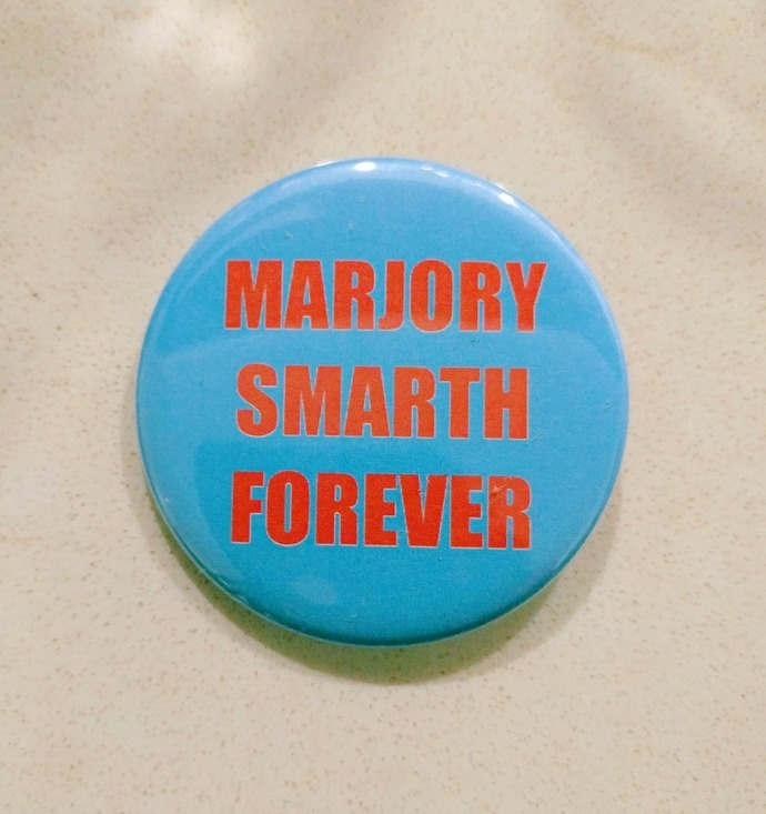 Button - Marjory Smarth Forever