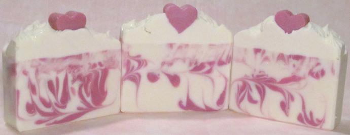 Harlequin Romance Artisan Soap