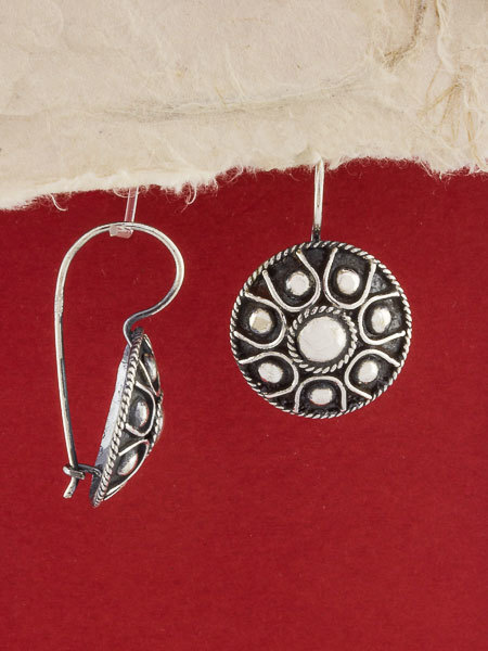 950  Sterling Silver Filigree Earrings/Silver Earrings/Handmade Filigree