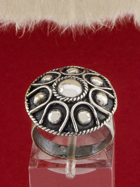 Filigree Silver Ring/950 Sterling Silver Ring/Handmade Filigree Ring/Ring/STR141