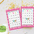 60 Happy Valentine Day  Cute Owls Bingo cards - Printable Game Valentine Day -