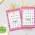 50 Happy Valentine Day  Cute Owls Bingo cards - Printable Game Valentine Day -