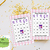 50 Happy Valentine Day  Friend Forever Bingo cards - Printable Game Valentine