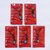 Coca Cola Beijing Olympic Games Mascots Cell Phone Charm Strap Set Of 5 - New In