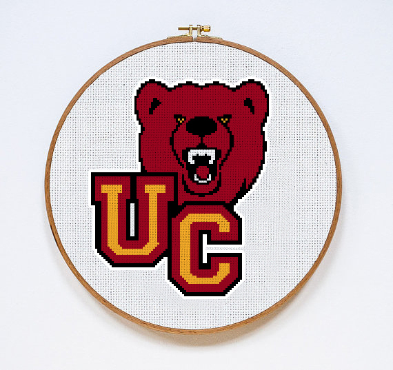 Ursinus College Bears | Digital Download | Sports Cross Stitch Pattern |