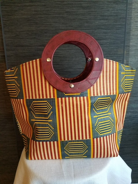 Stylish African Print Handbag