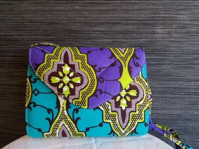 Stylish African Print Clutch/Crossbody
