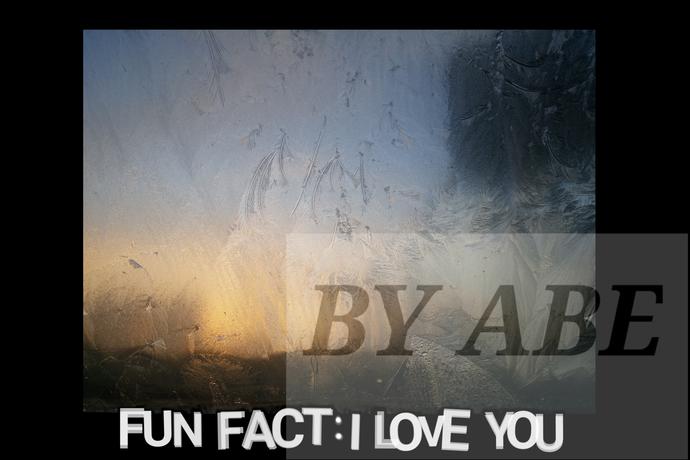 Fun fact: I love you digital download printable version 2