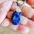 Sodalite Pendant, Rustic Jewelry, Blue Gemstone, Handcrafted Jewelry, Gemstone