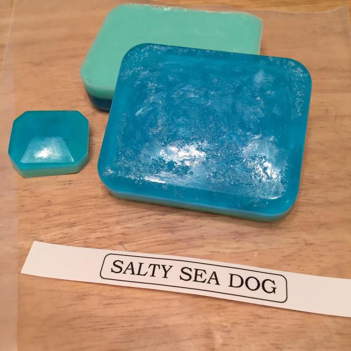 Salty Sea Dog Salt Scrub Bar