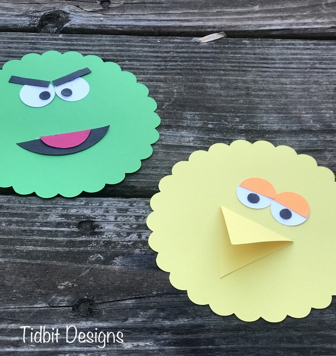 Sesame Street Characters Birthday / Shower Invitation Set