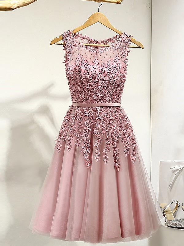Short Prom Dress Bateau