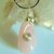 Rose Quartz Pendant, Silver Wire Wrap, Pink Gemstone, Handcrafted Jewelry,