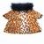 Fleece n Fur Cheetah Print Shirt, Cheetah Print Coat, Winter Dog Shirt, Animal