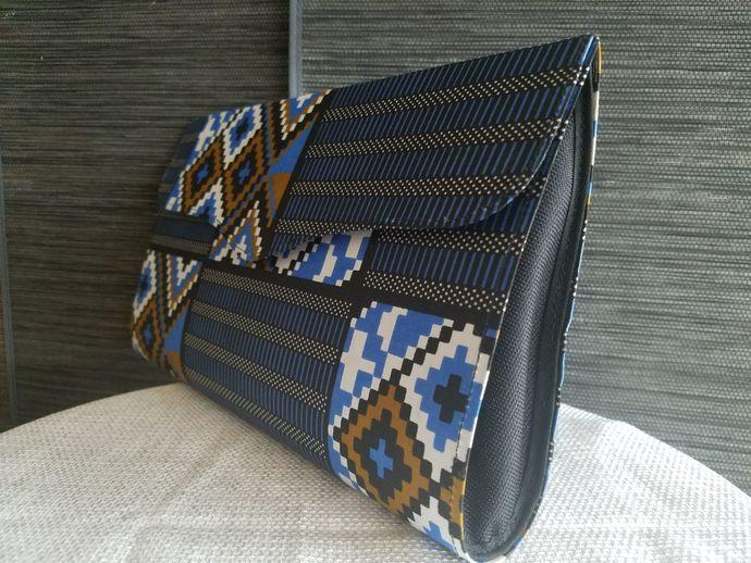 Stylish African Print Clutch