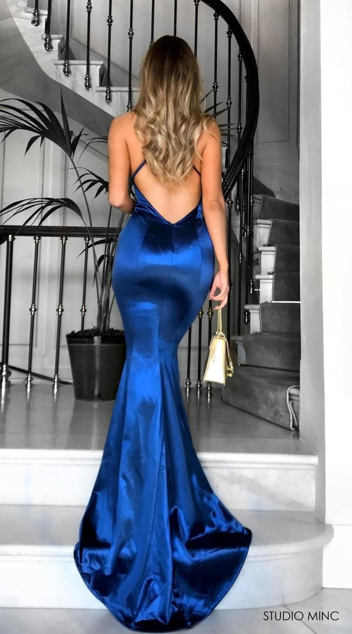 2018 New Mermaid Shirt Dress Prom Dresses