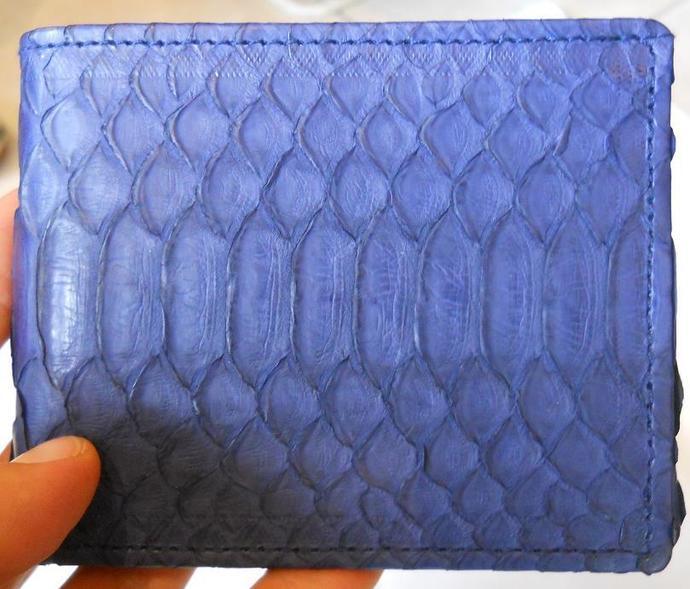 Handmade Python Men's Cardholder-Wallet