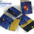 Handmade Fan Harry Potter Hogwarts Houses compact fabric Wallets- choose