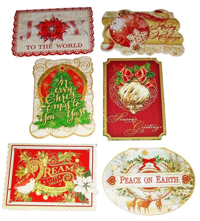 new 24 christmas punch studio die cut cards antique ephemera images 6 design joy