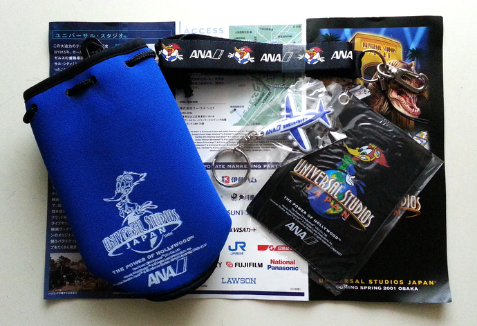 USJ Universal Studios Japan Grand Opening X ANA All Nippon Airways Press Kit