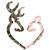 Buck Doe Browning Heart Cross Stitch Pattern***LOOK***X***INSTANT DOWNLOAD***