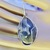 Moss Agate in Sterling Silver Pendant
