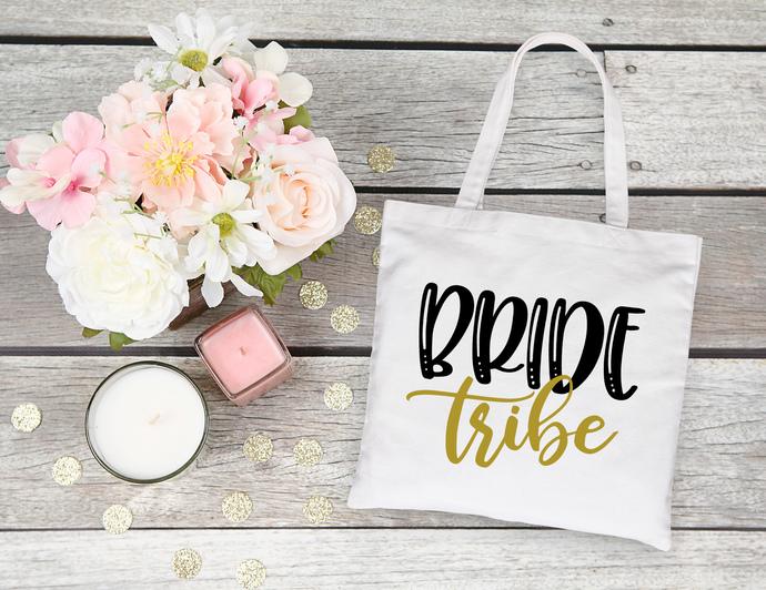 Bride Tribe Custom Tote bag, bride tribe, bridesmaids tote bags