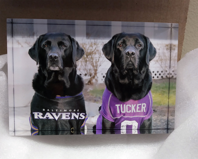 Custom Acrylic Photo Blocks