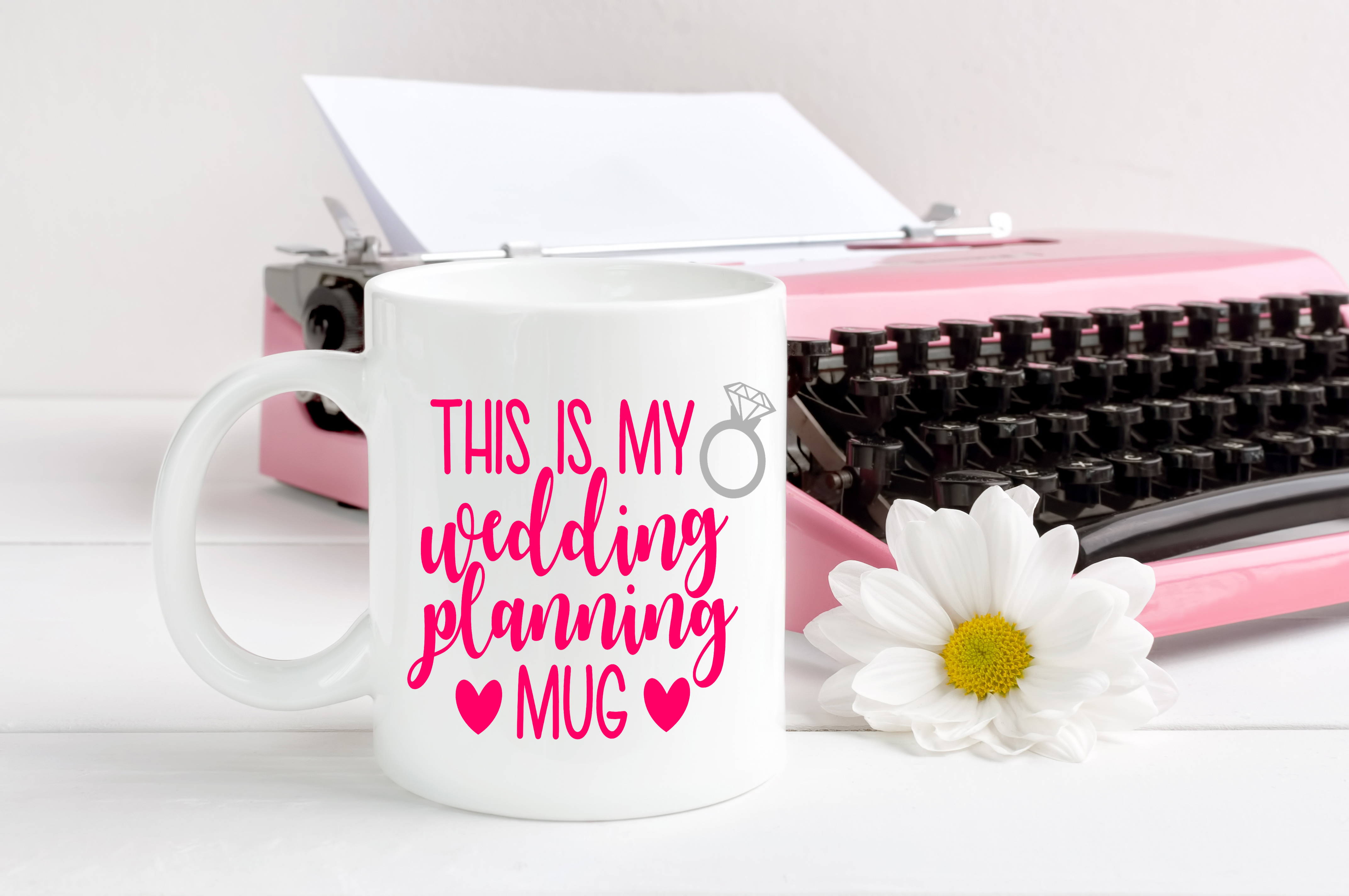 This is my wedding planning mug, by Pretty Party Favors on Zibbet