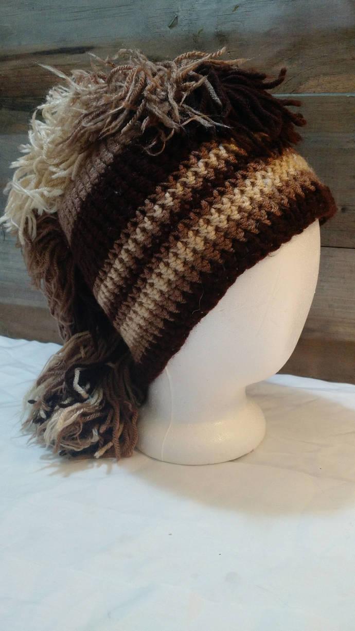 Wild Horse Crochet Hat by FoxandPuff on Zibbet 555ed5016a1