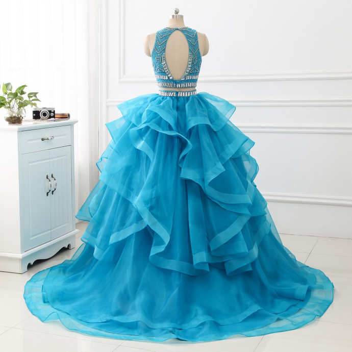 Quinceanera Dresses Two Pieces Sweet Princess Dresses Prom Party Dress with