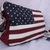 US flag USA flag American flag leather handbag new handmade unisex
