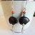 Native Style Bear Dangle Earrings, Boho Jewelry