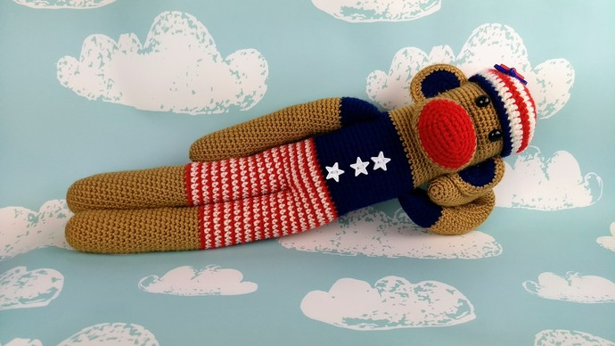 Stars and Stripes Monkey
